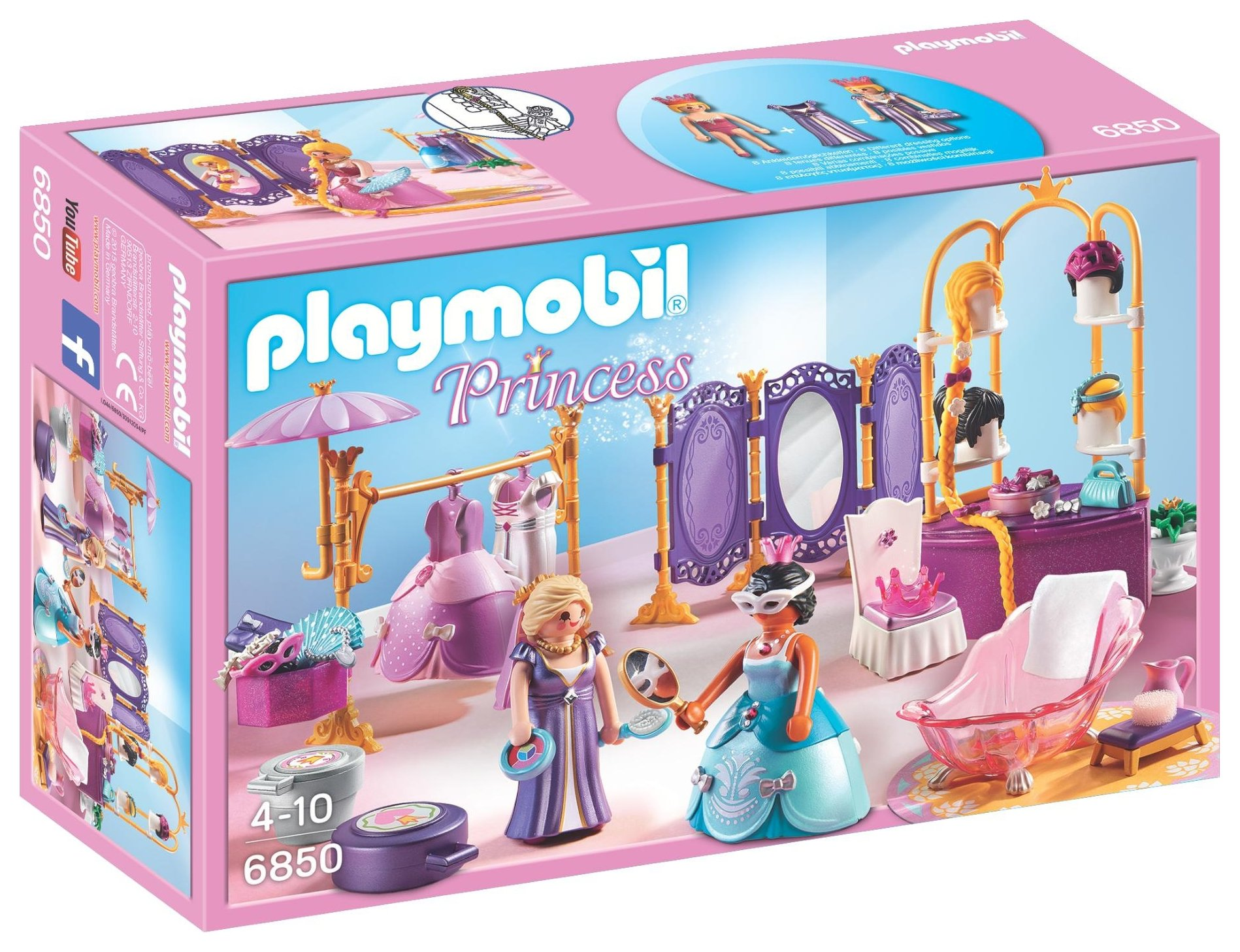 Playmobil 6850 Princess Dressing Room Salon