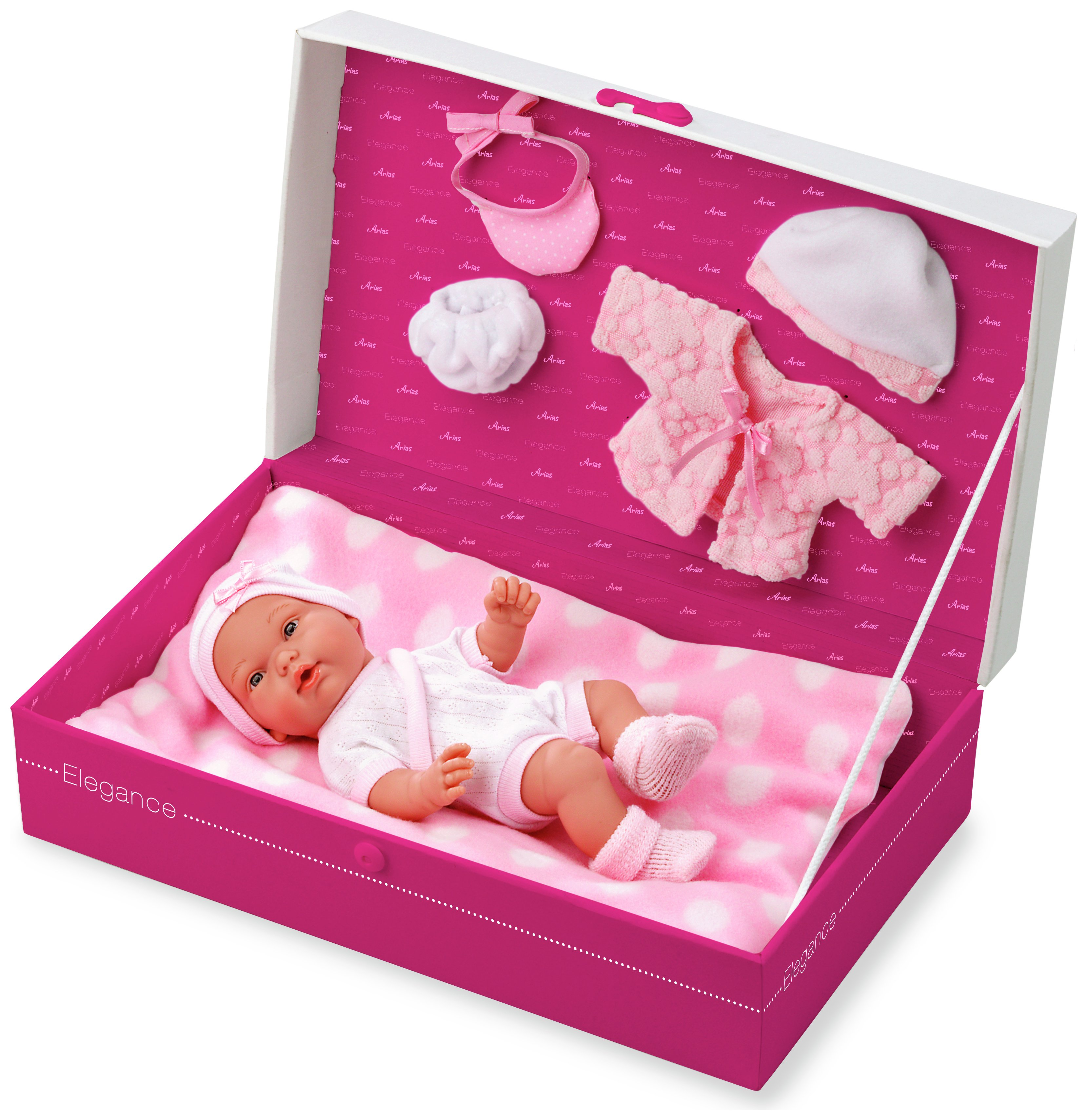 Image of Arias Elegance Baby Doll in Gift Box.