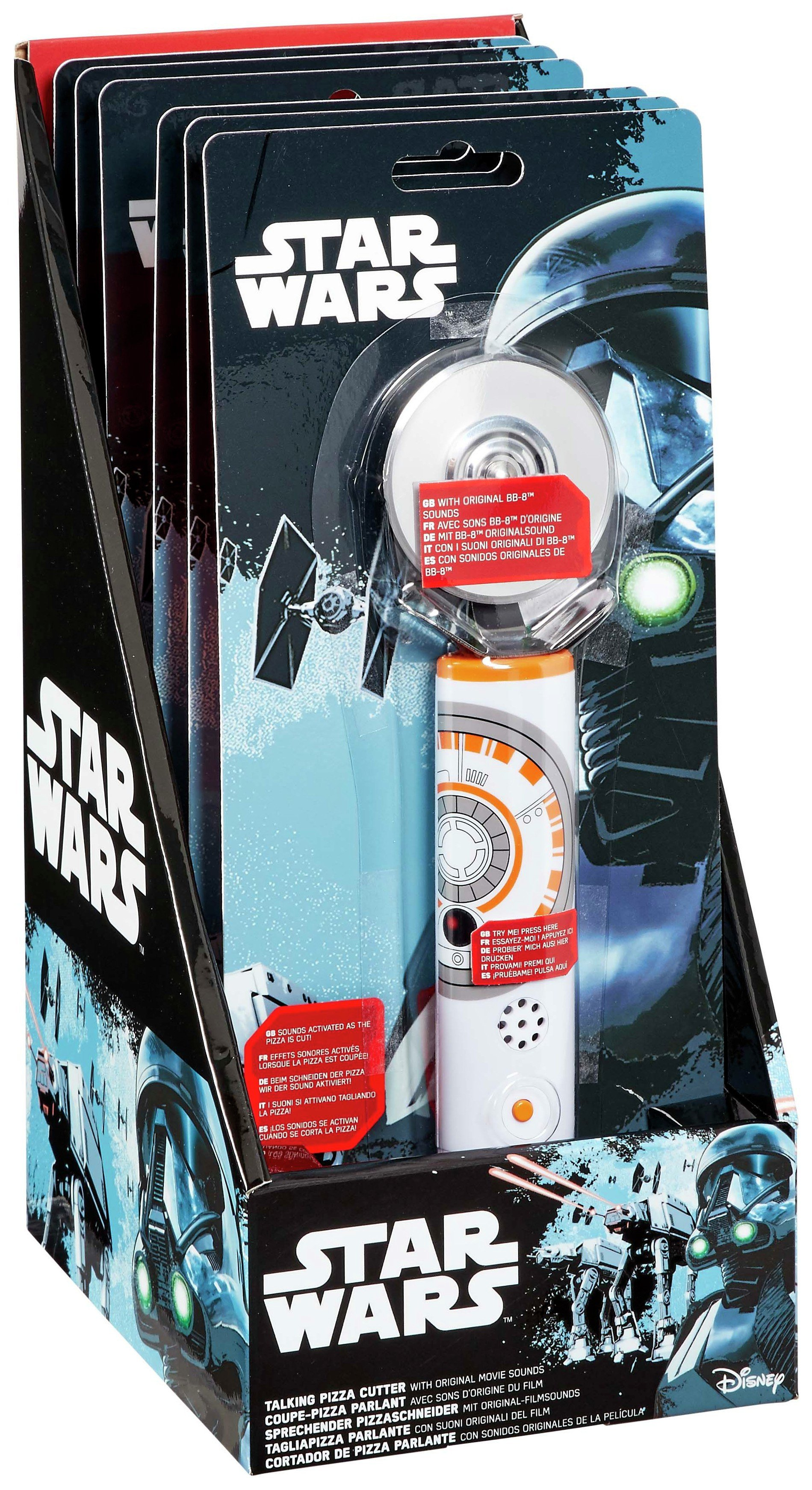 Star Wars BB8 Pizza Cutter with Sounds