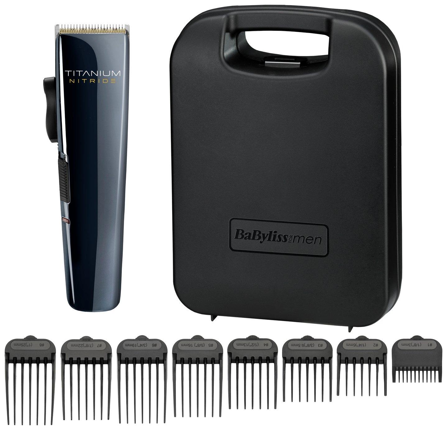BaByliss For Men Titanium Nitride Hair Clipper 7471U