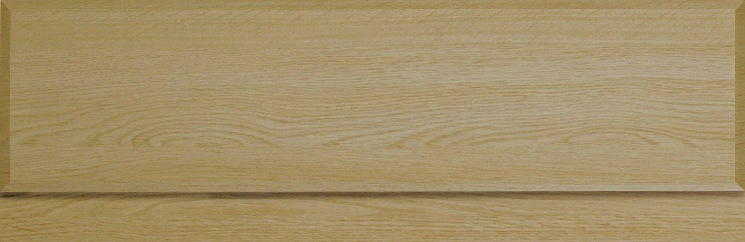 Image of Lavari Bath Panel - Light Oak Effect