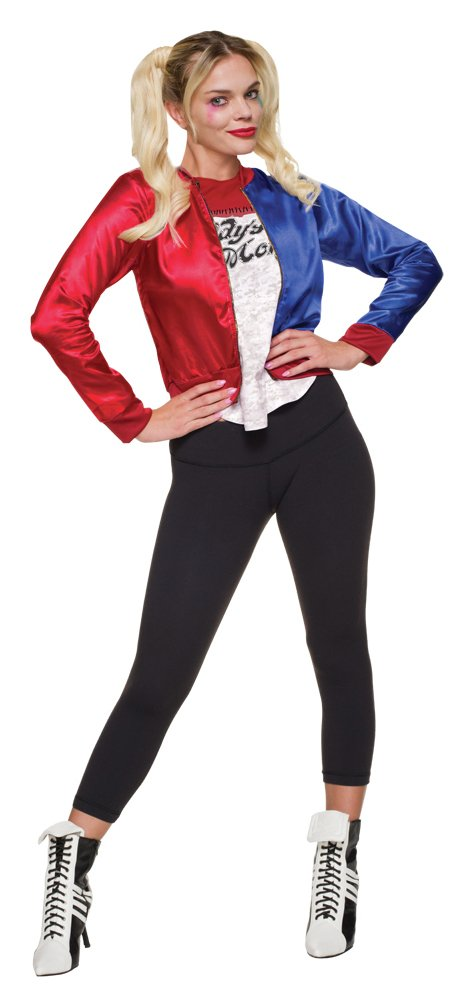 Harley Quinn Women's Fancy Dress Costume - Size 12-14.
