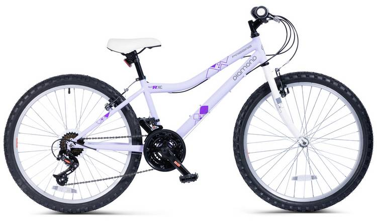 Pazzaz Diamond 24 inch Wheel Size Kids Bike