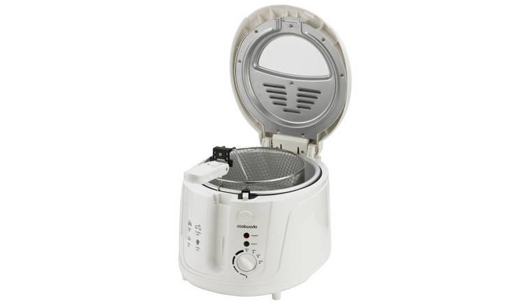 Buy Cookworks DF5318-GS Deep Fat Fryer - White | Fryers