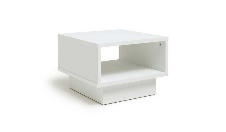 Argos Home Cubes End Table - White