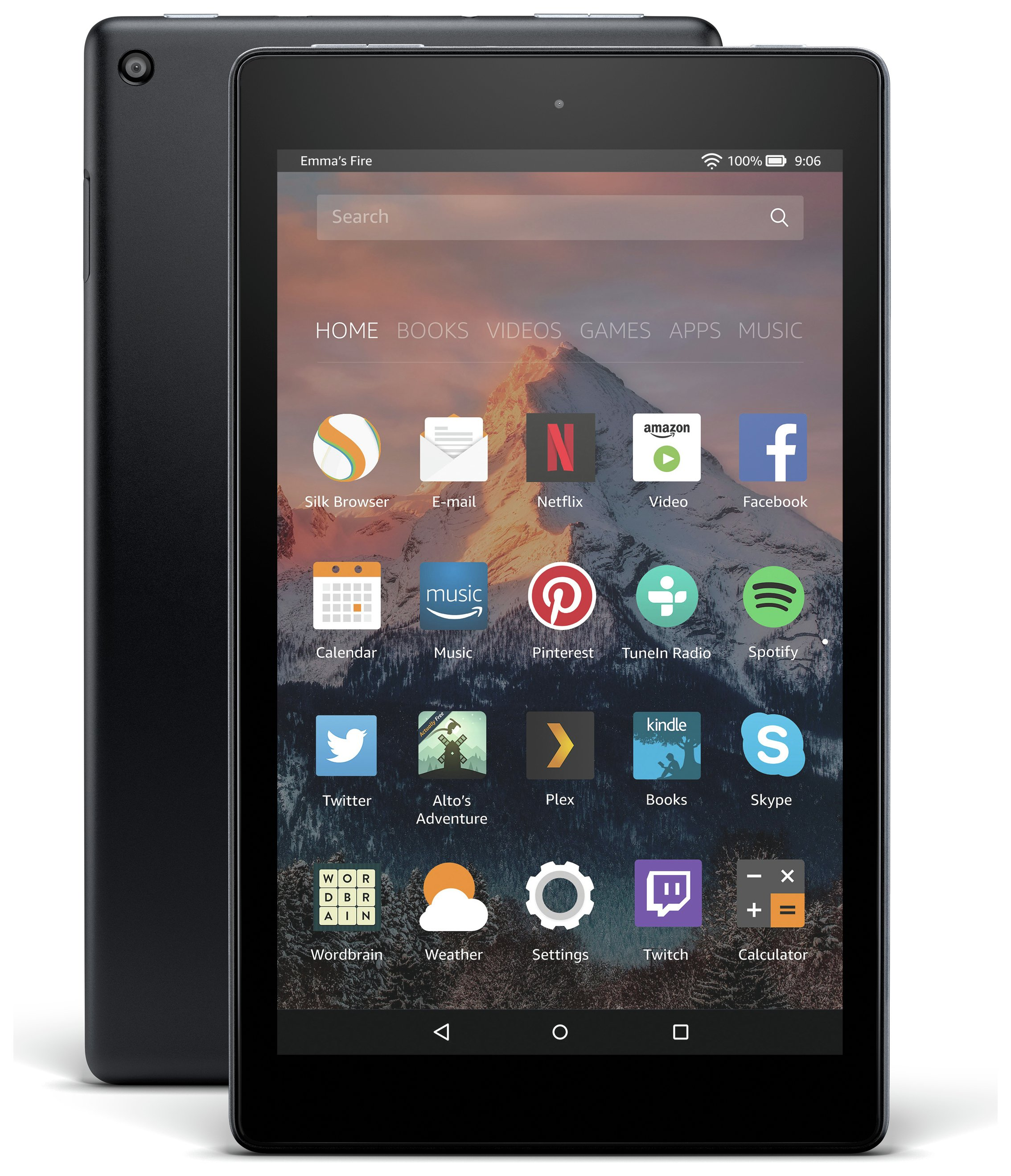 Amazon Fire 8 HD Alexa 8 Inch 16GB Tablet - Black