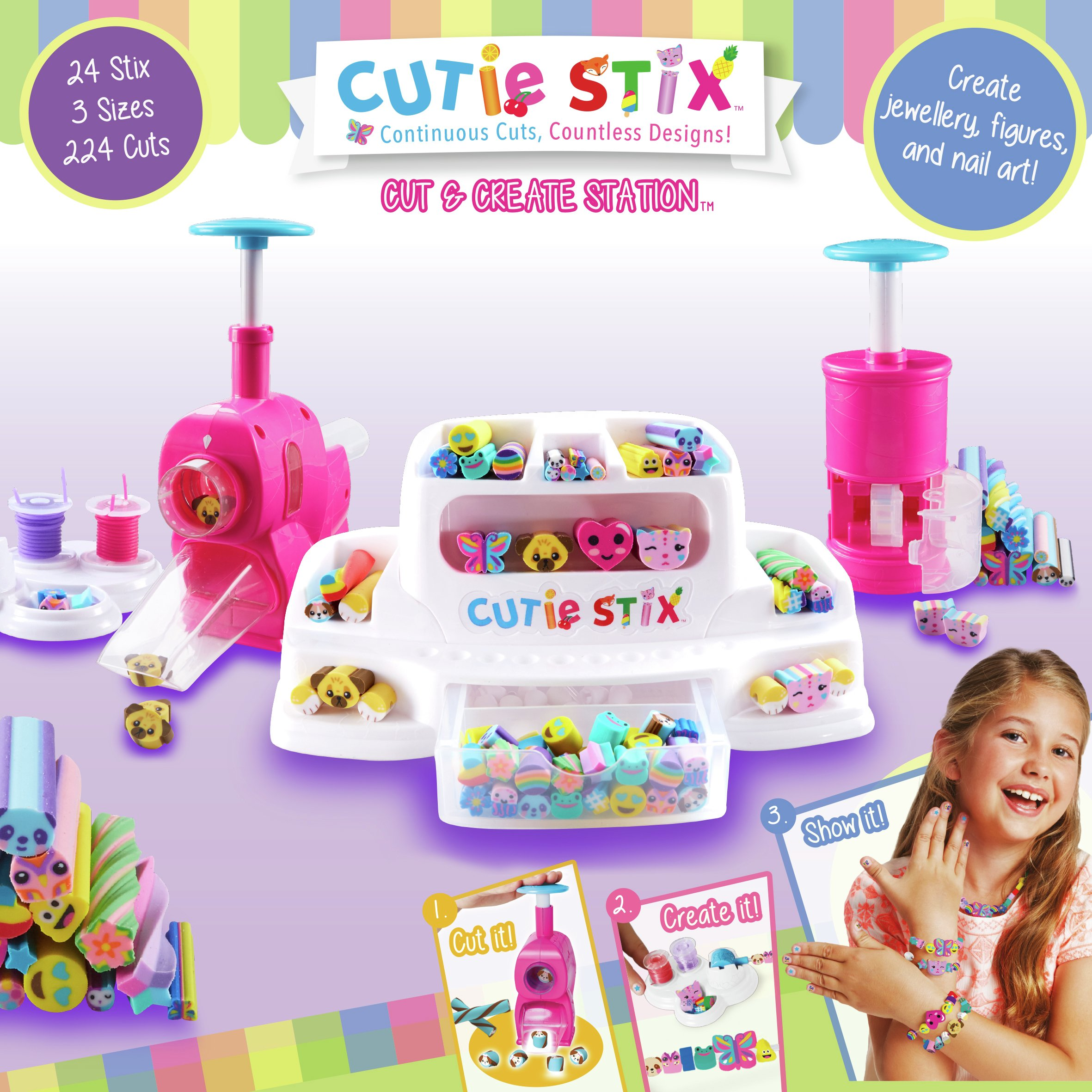 Cutie Stix Cut & Create Station Set