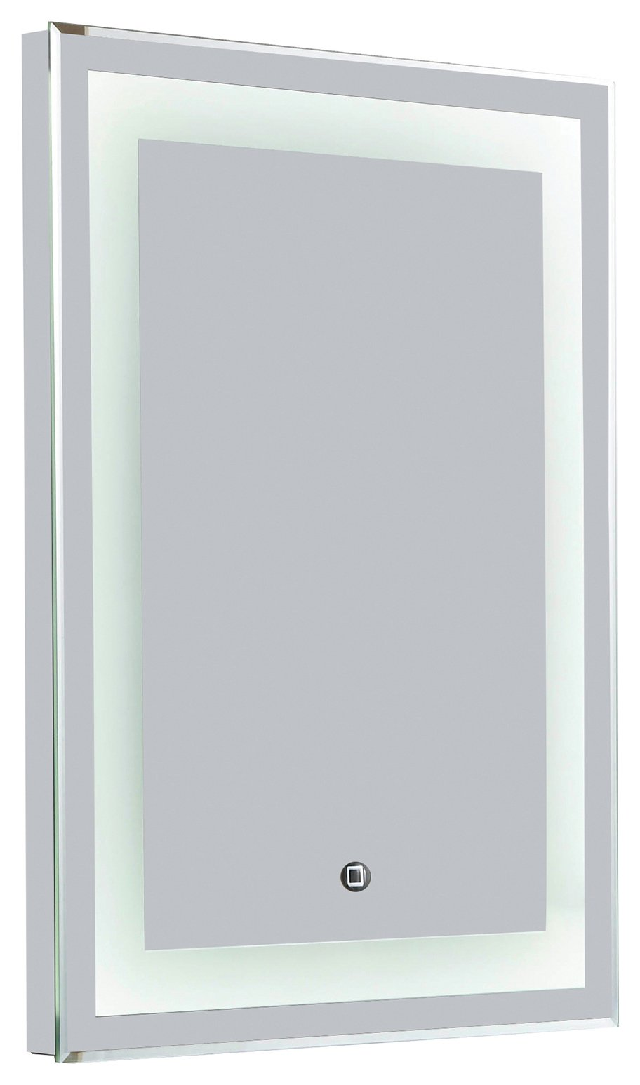 Croydex Rookley Hang N Lock LED Illuminated Mirror