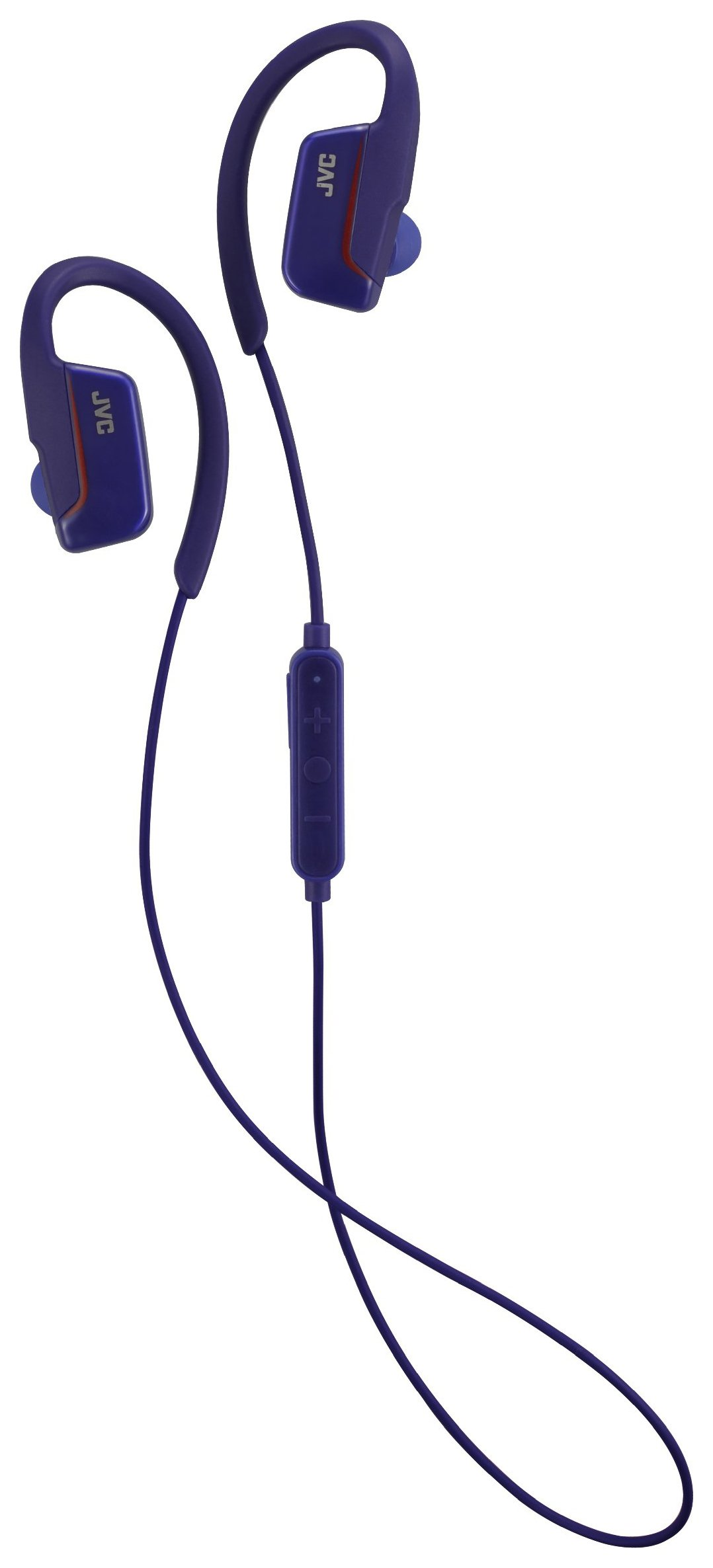 JVC HA-EC30BT In-Ear Wireless Sports Headphones - Blue.