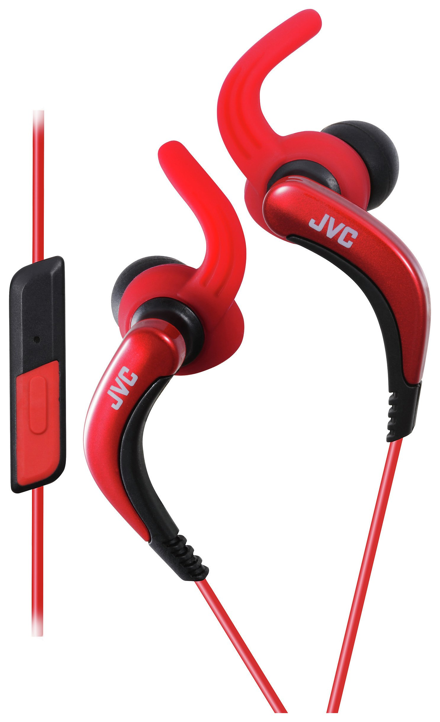 JVC HA-ETR40 In-Ear Sports Headphones - Red.