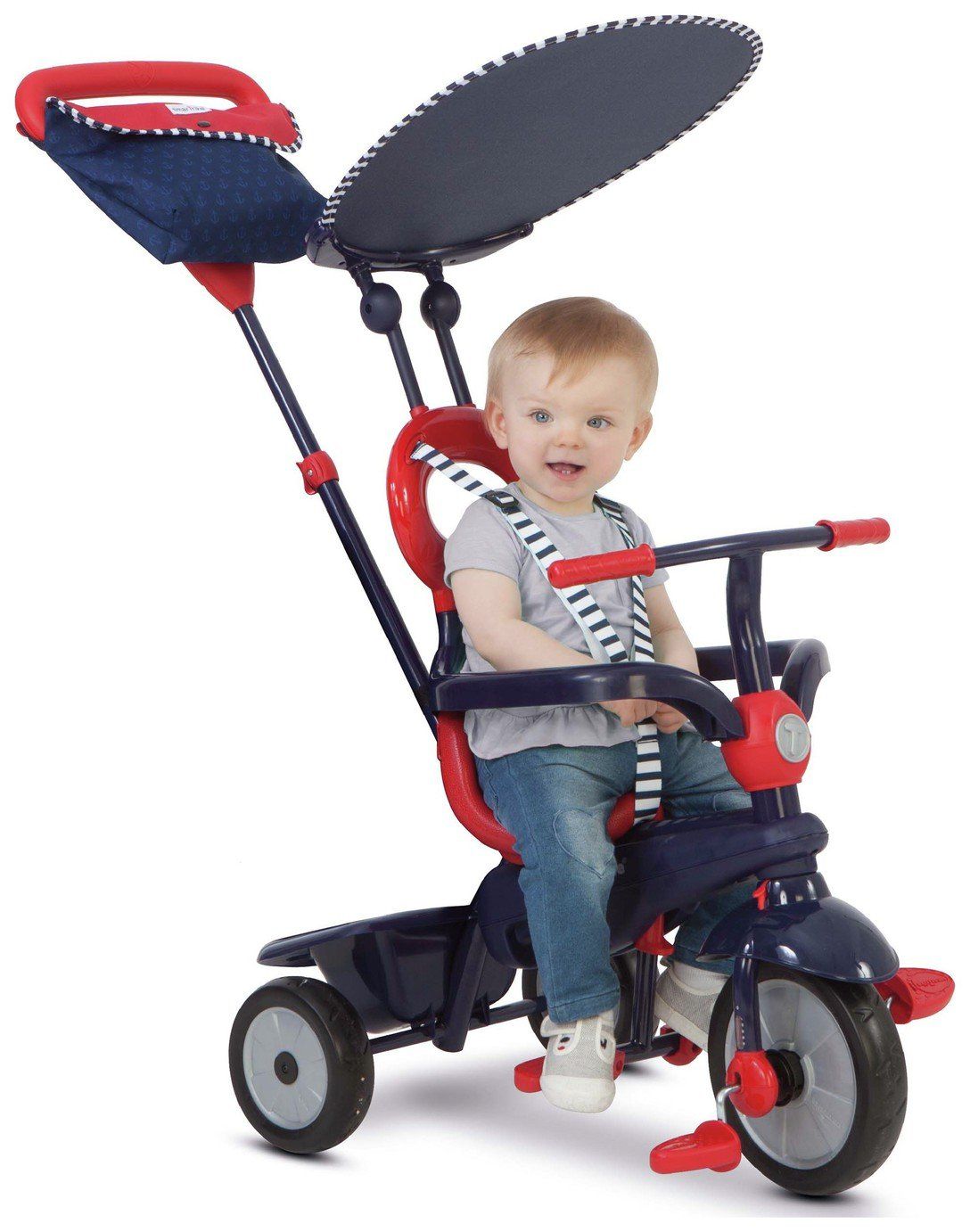 SmarTrike 4 In 1 Vanilla Tricycle   Navy