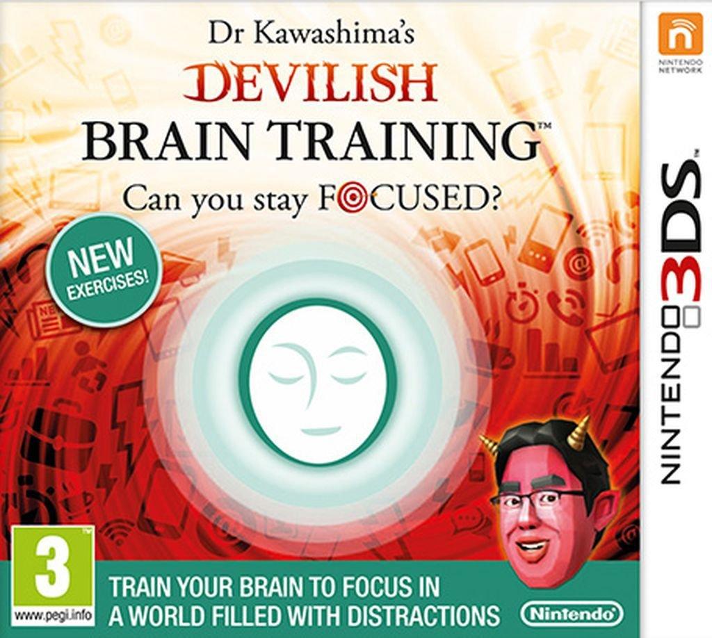 Image of Dr Kawashimas Devilish Brain Training Nintendo 3DS Game