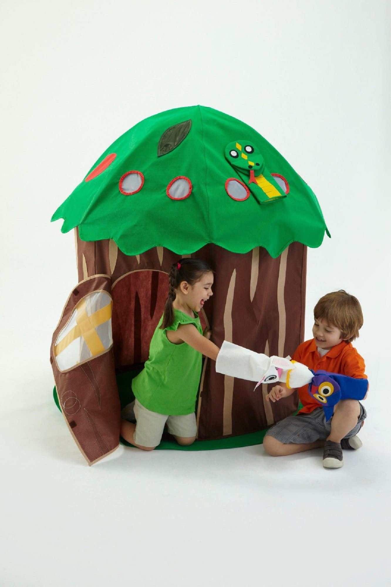 Image of Bazoongi Puppet Play Tent