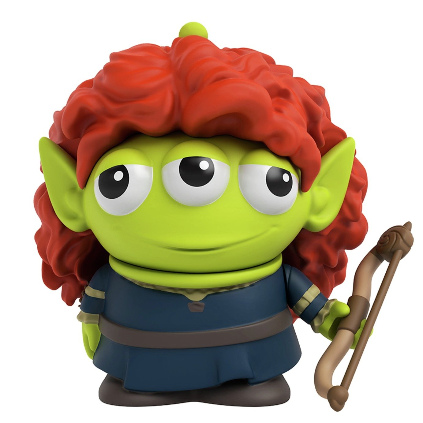 Disney Pixar Alien Dress-Up - Merida Figure