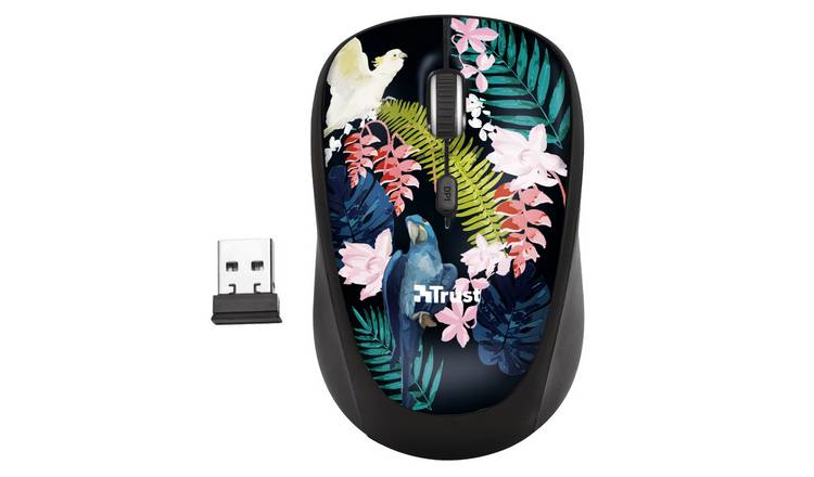 Trust Yvi Wireless Mouse - Multicoloured