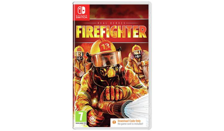 Real Heroes: Firefighter Nintendo Switch Game