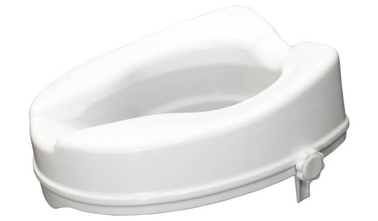 Aidapt Raised Toilet Seat with No Lid