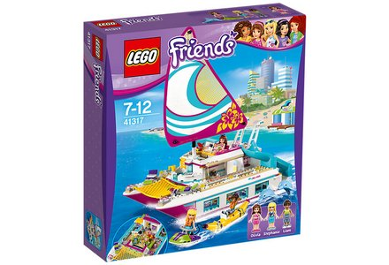 LEGO Friends Sunshine Catamaran - 41317.