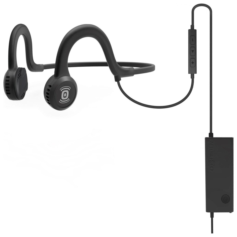 Image of Aftershokz Sportz Titanium with Mic - Black