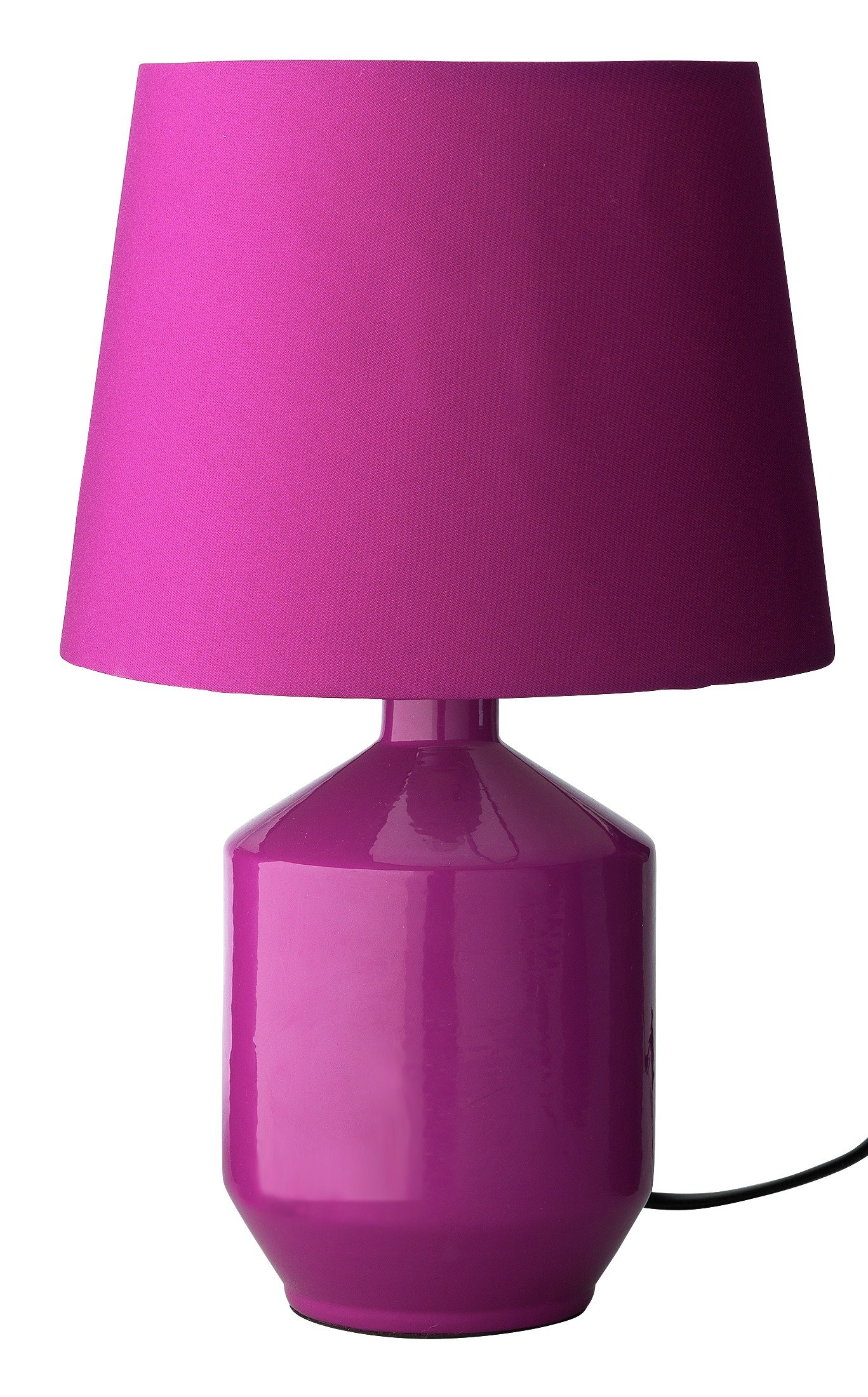 Image of ColourMatch Ceramic Table Lamp - Grape