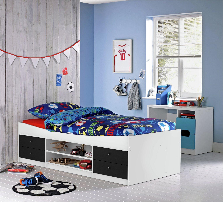 Argos Home Malibu Black & White Cabin Bed Frame