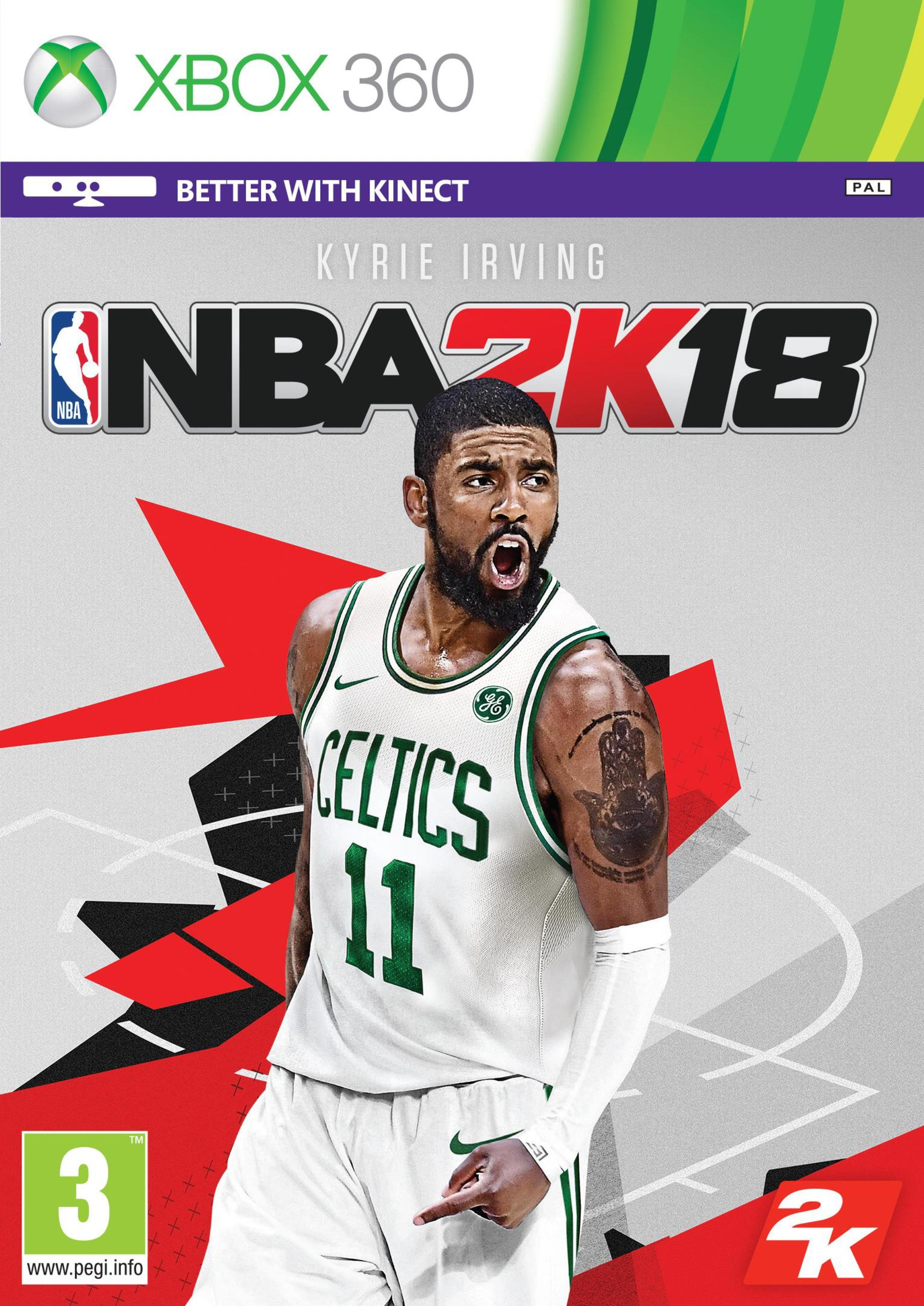 Image of NBA 2K18 Xbox 360 Game