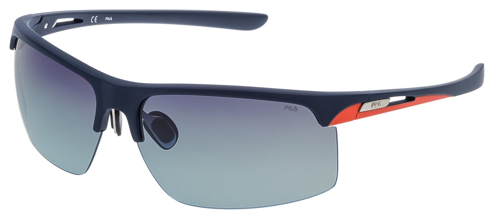Image of Fila Gun Light Grey Lens Sunglasses.