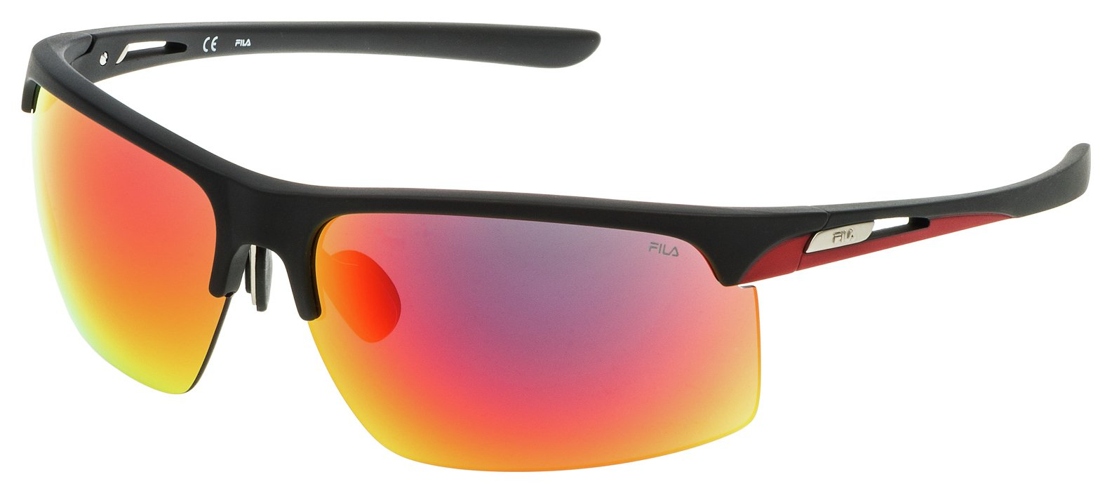 Image of Fila Black Multi Lens Sunglasses.