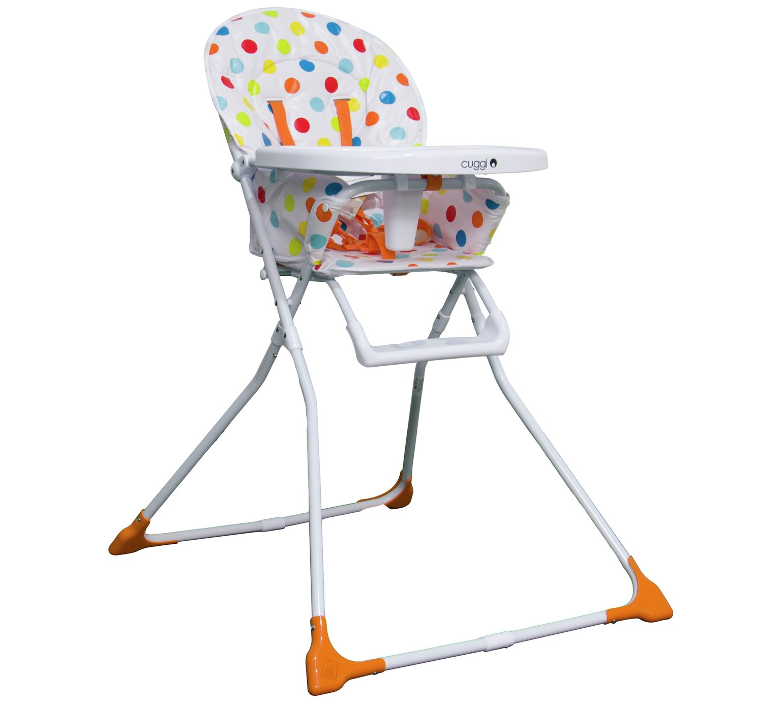 Cuggl Mushroom Folding Highchair