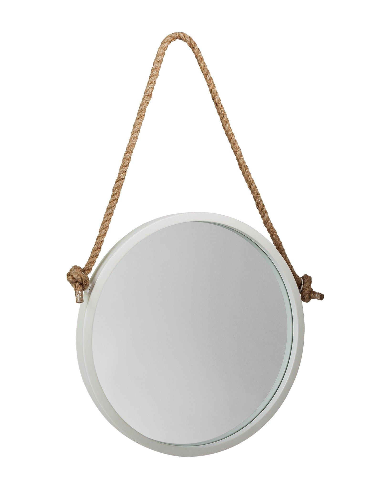 Argos Home Nautical Circular Rope Mirror - White