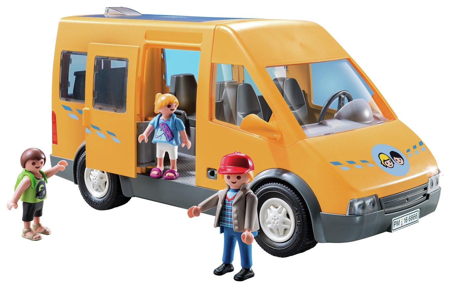 Playmobil 6866 City Life School Bus