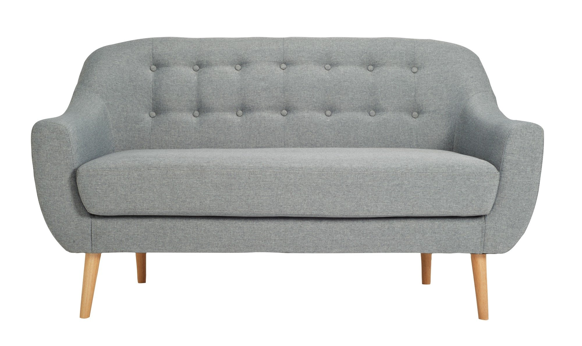 Hygena 2 Seater Fabric Sofa in a Box Charcoal : 7094552RZ001A from currentoffers.co.uk size 2000 x 1188 jpeg 344kB
