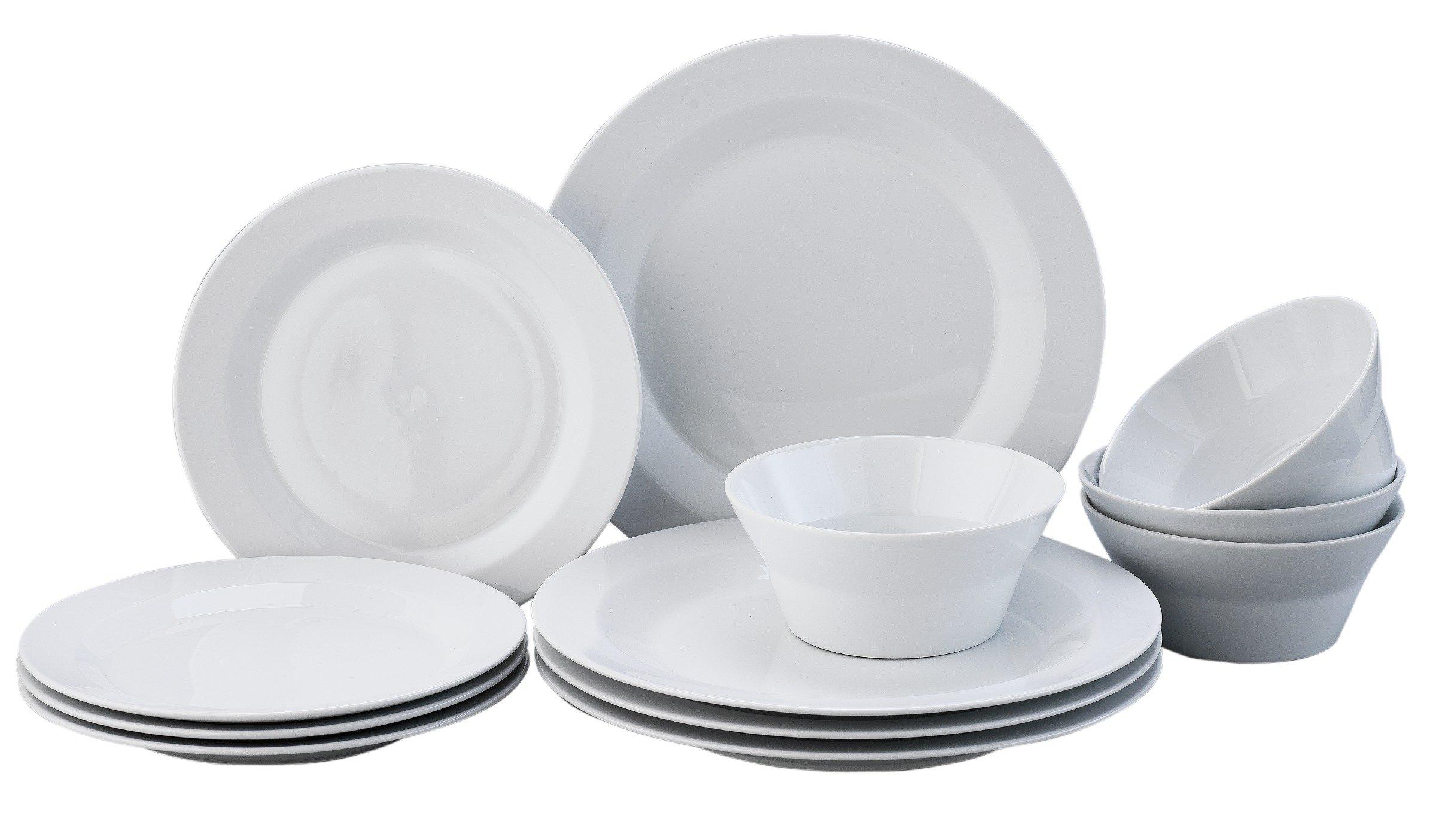 Denby James Martin 12 Piece Porcelain Dinner Set