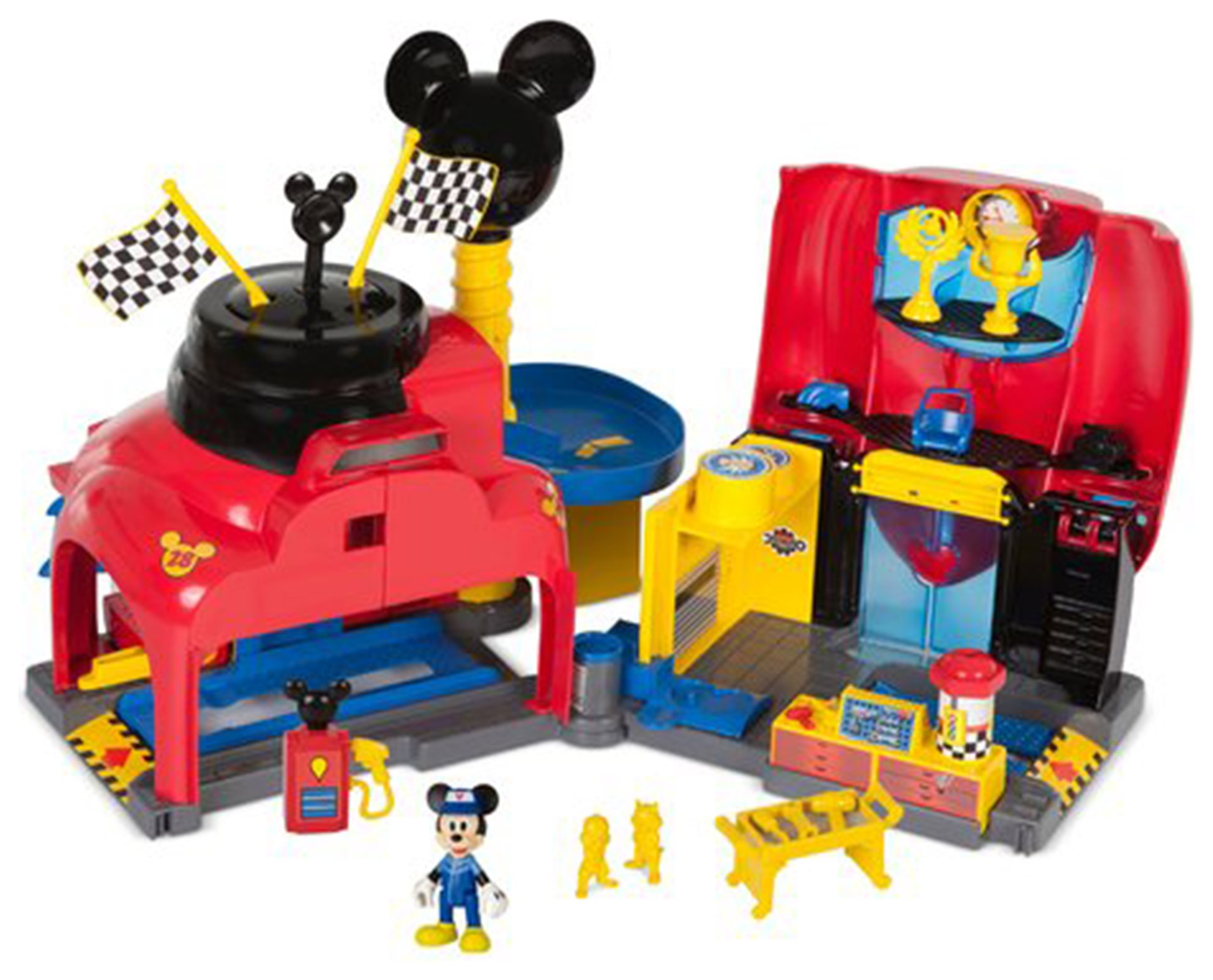Mickey and the Roadster Racers Garage