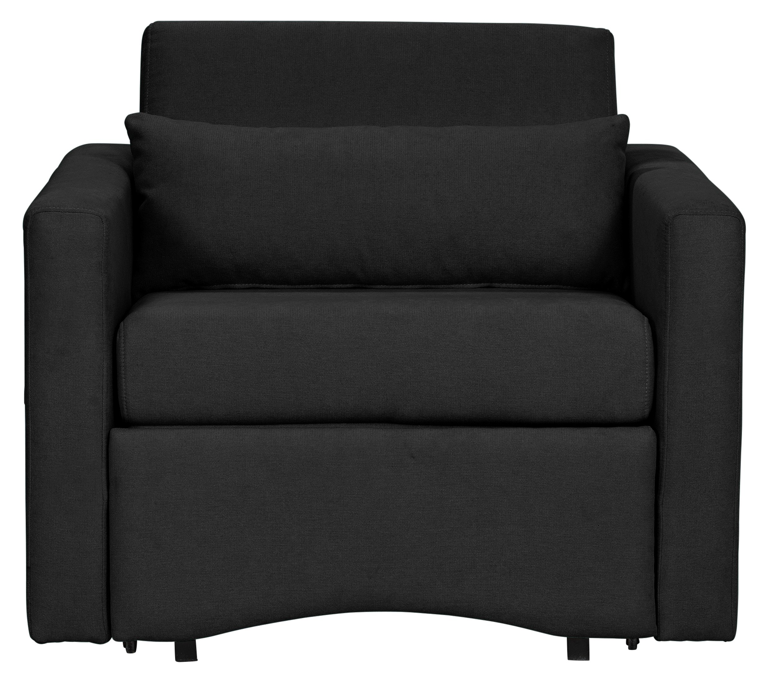Argos Home Reagan Fabric Chairbed - Charcoal