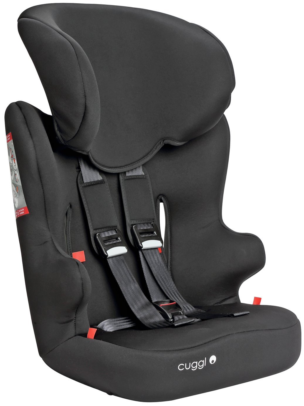 Cuggl Chaffinch Group 1/2/3 Car Seat - Black