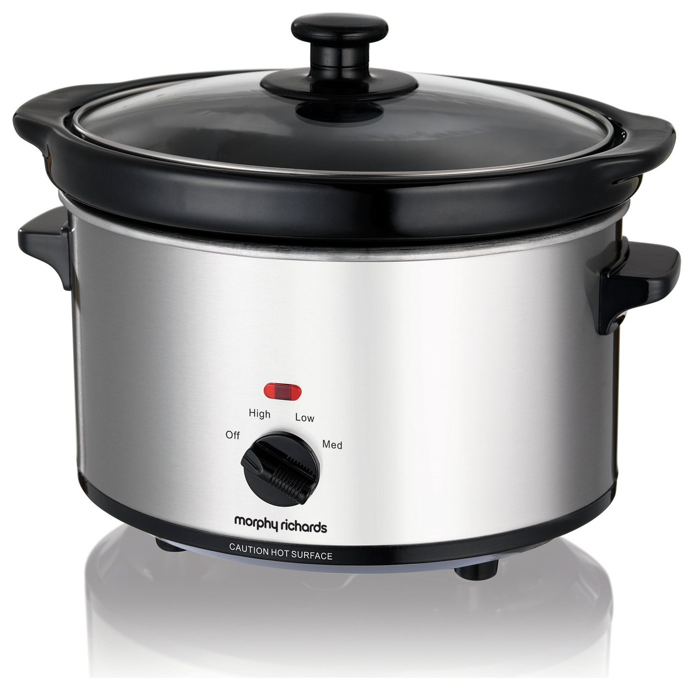 'Morphy Richards 460251 2.5l Slow Cooker - Stainless Steel