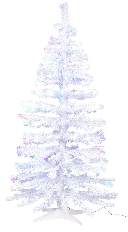 Argos Home 5ft Fibre Optic Christmas Tree - White