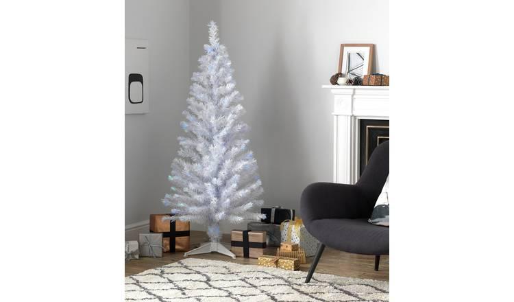 Artificial Christmas Tree Assembly Instructions.Buy Argos Home 5ft Fibre Optic Christmas Tree White Artificial Christmas Trees Argos