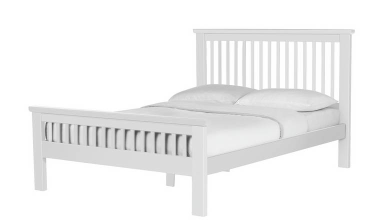 sports shoes ce6bf 17d57 Buy Argos Home Aubrey Small Double Bed Frame - White | Bed frames | Argos