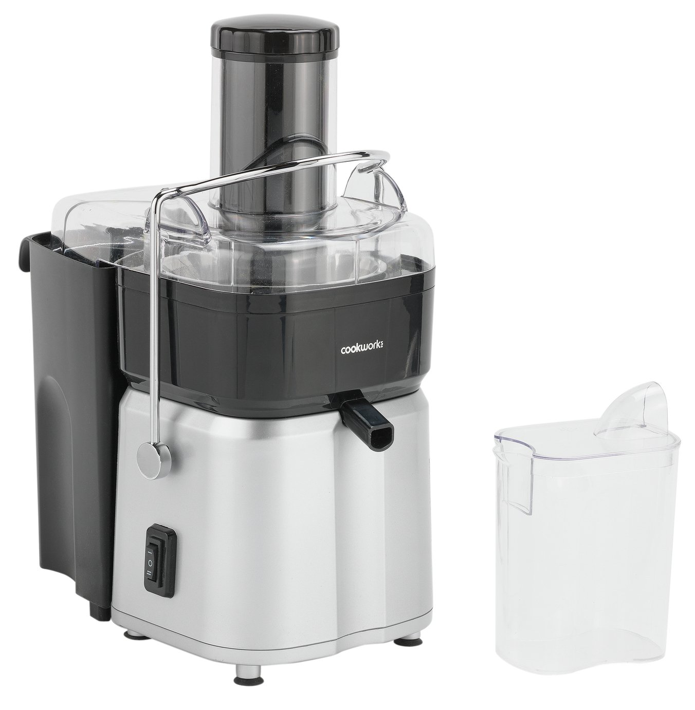 Cookworks Whole Fruit Juicer - St/Steel