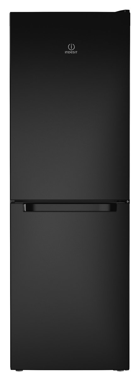 Indesit LD70N1K Fridge Freezer - Black