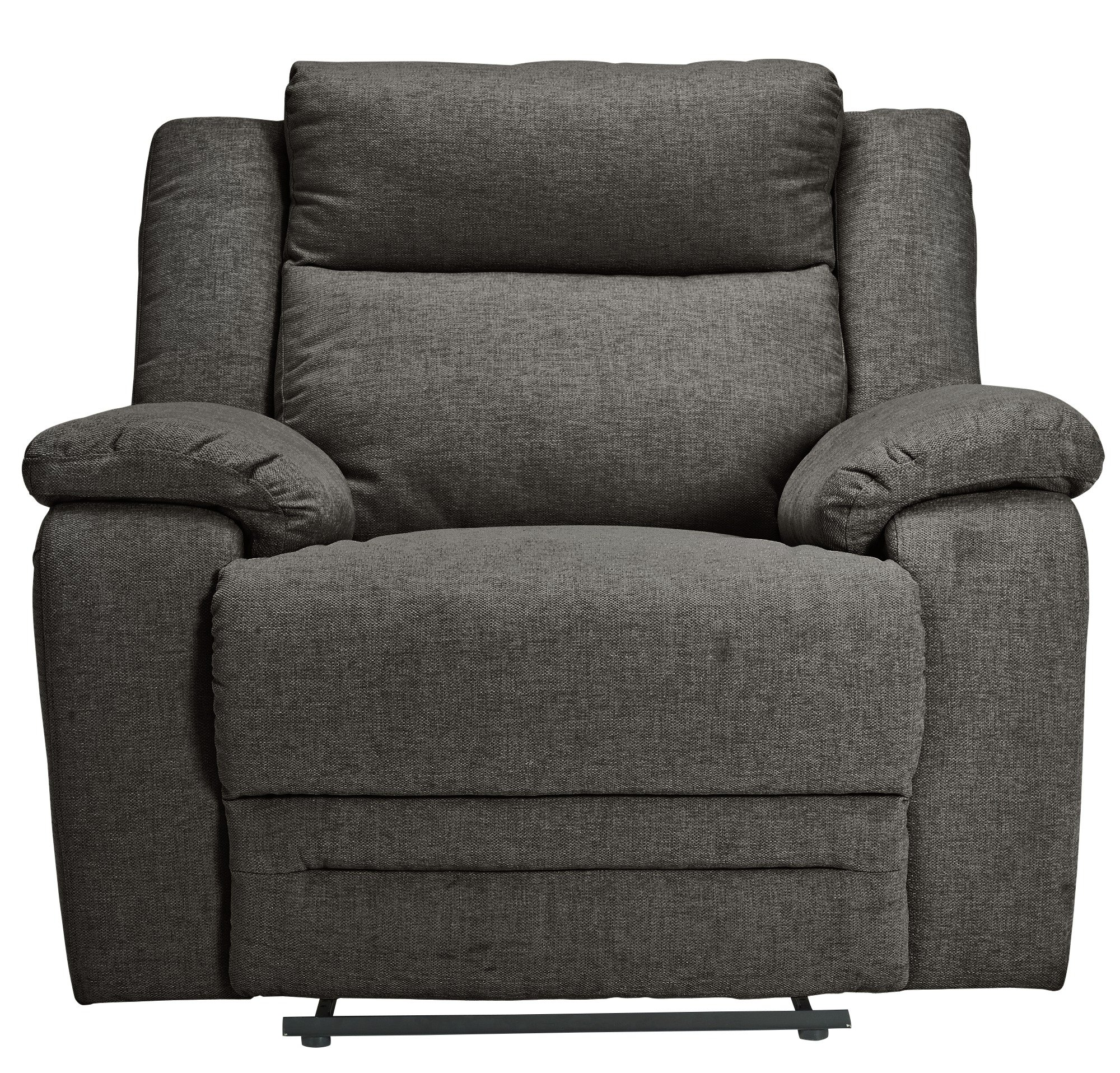 Argos Home Blake Fabric Manual Recliner Chair - Grey
