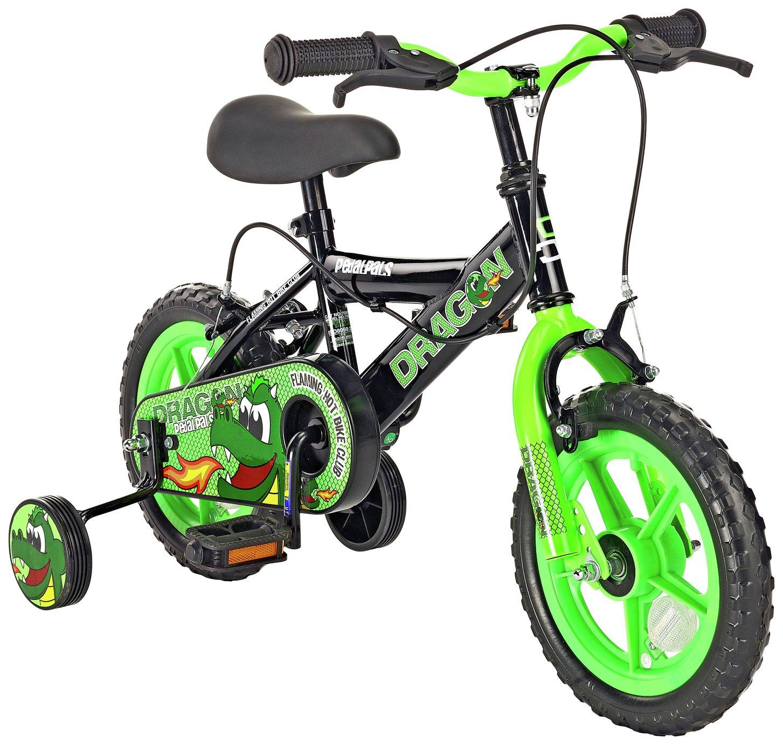 Pedal Pals 12 Inch Dragon Kids Bike