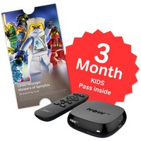 NOW TV Box with 3 Month Sky Kids Pass.
