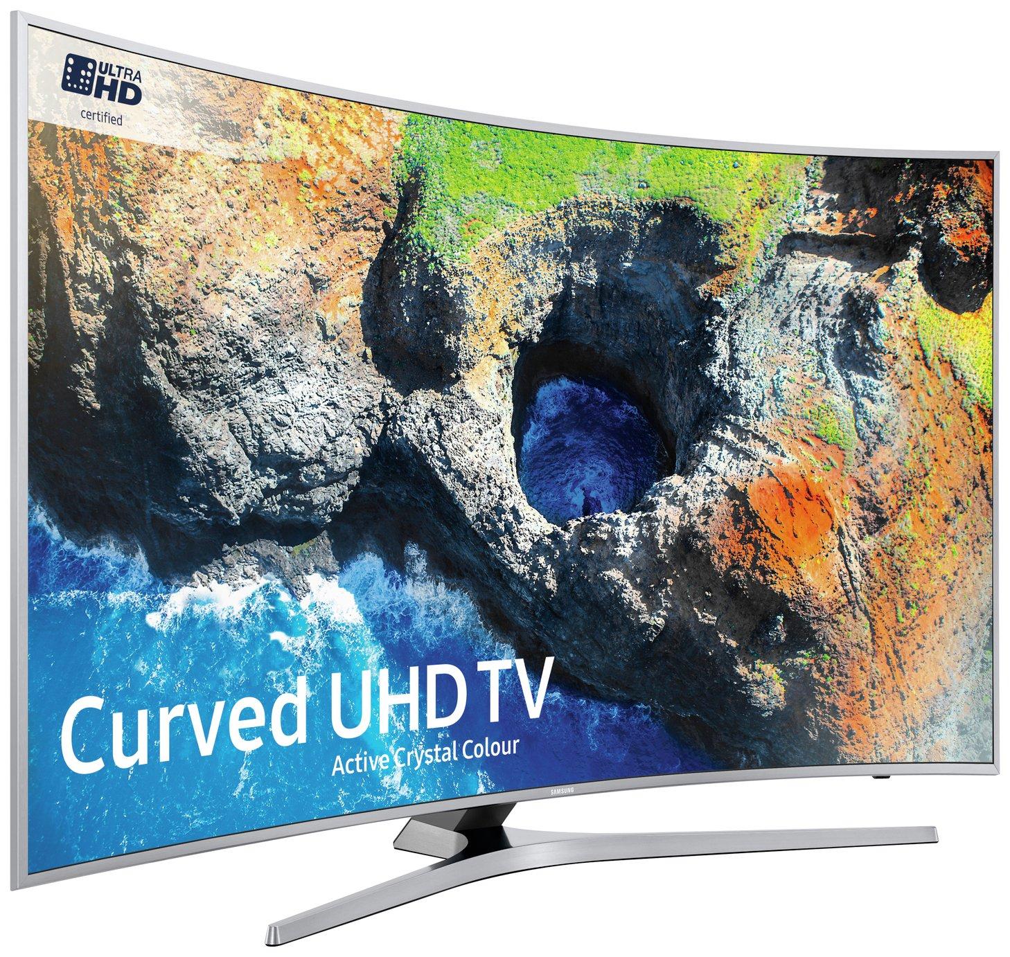 Samsung Samsung 55 Inch 55MU6500 Curved 4K Ultra HD LED HDR Smart TV