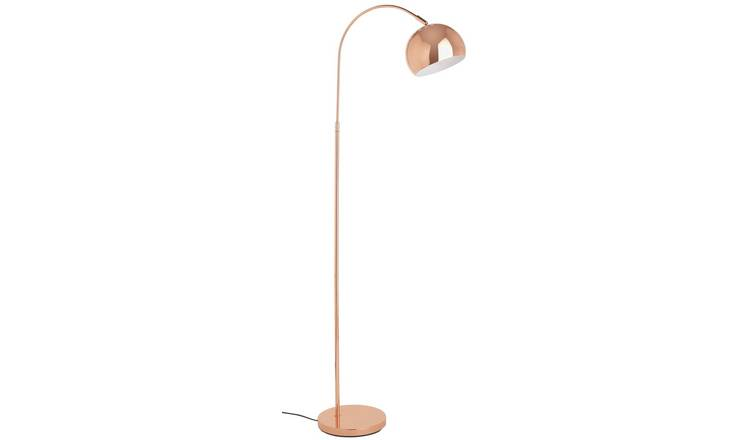 Buy Argos Home Curva Floor Lamp Copper Floor Lamps Argos