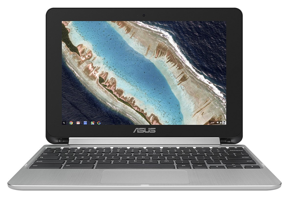 Image of ASUS Chromebook Flip C101. 10.1 Inch 4GB 16GB- Silver