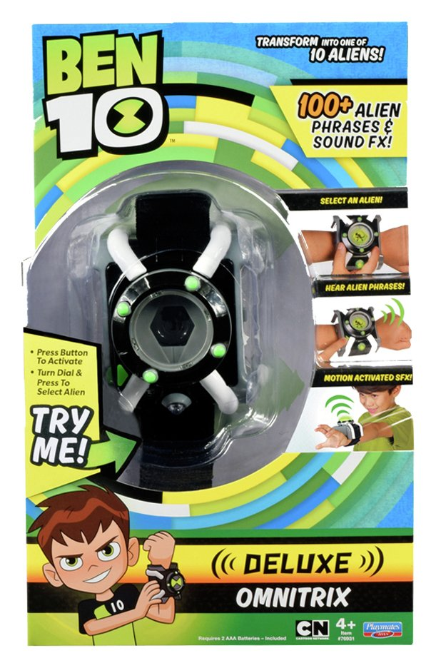 Image of Ben 10 Deluxe Omnitrix Watch