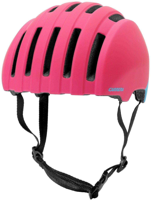Image of Carrera Precinct Helmet - Matte Pink & Light Blue